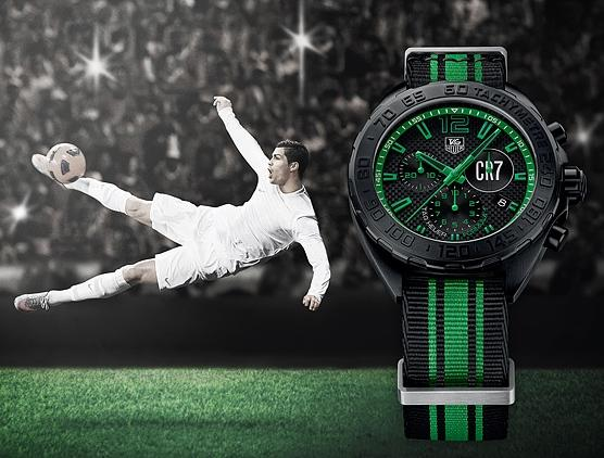 Hands-on With Replica TAG Heuer ambassador Cristiano Ronaldo Euro 2016