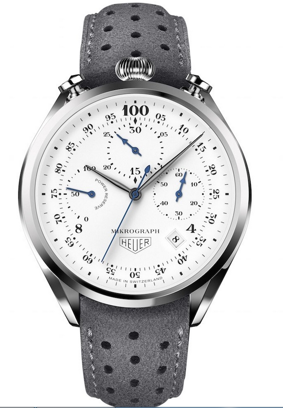 Take A Look At The TAG Heuer 100th Anniversary Mikrograph 1/100th Chronograph Replica