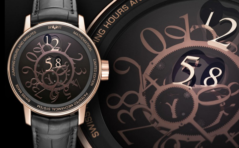 Introducing the DeWitt Academia Mathematical Concept Replica Watch