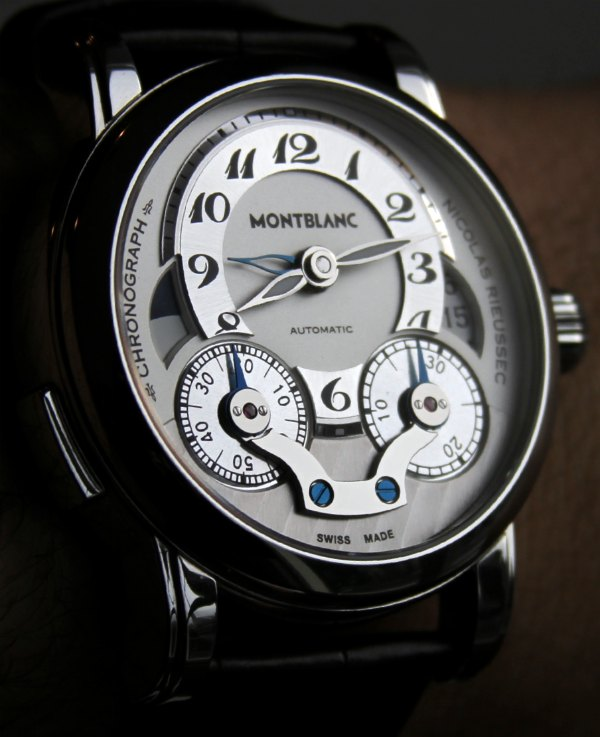 Highlights Of MontBlanc Nicolas Rieussec Replica Watches With Anthracite-Shaded Dial