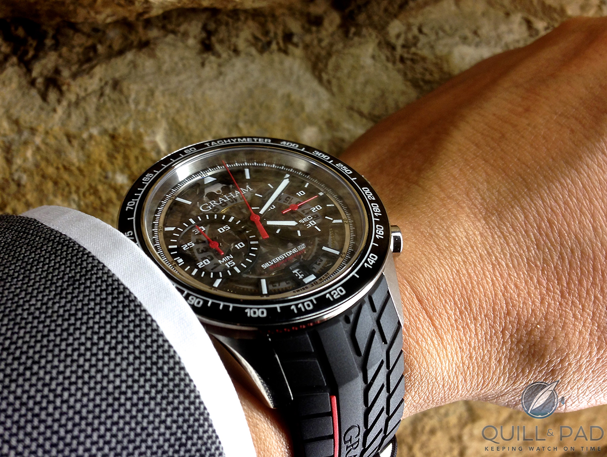 Graham Silverstone RS Racing Automatic Fresh-looking Sporty Replica Watch Review