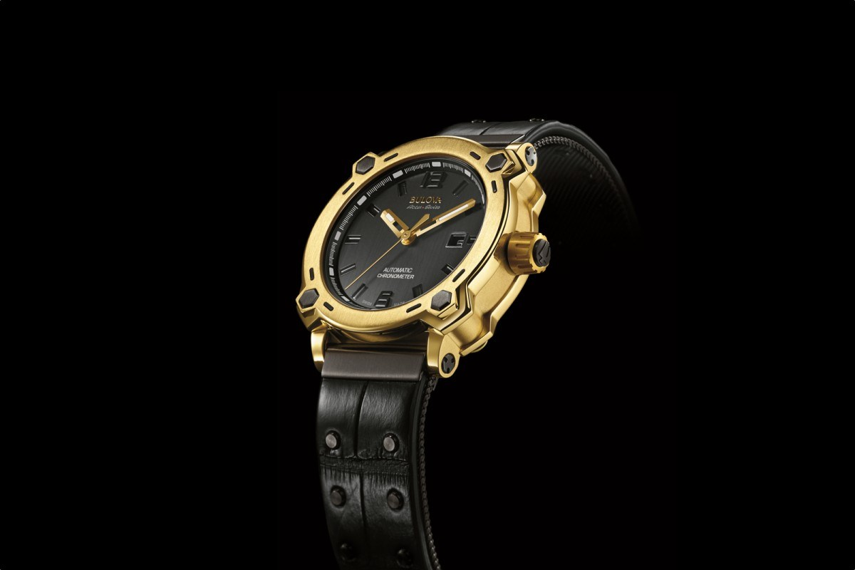 Show You The Replica Bulva First Edition 24-Karat Gold Timepiece