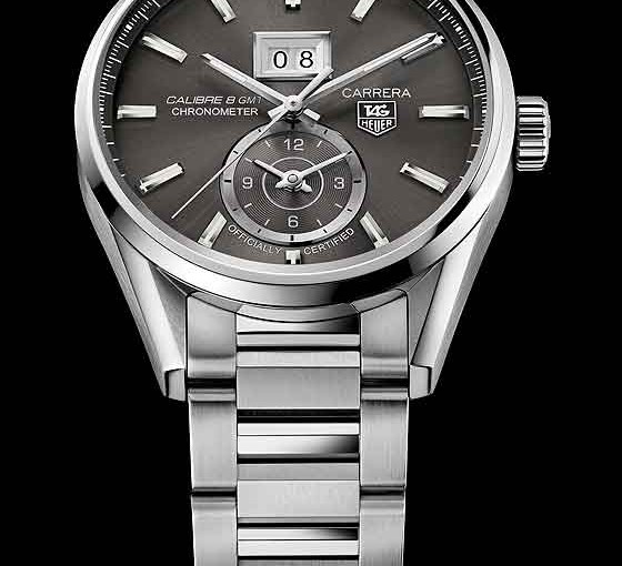 tag heuer carrera with gmt and big date replica watch