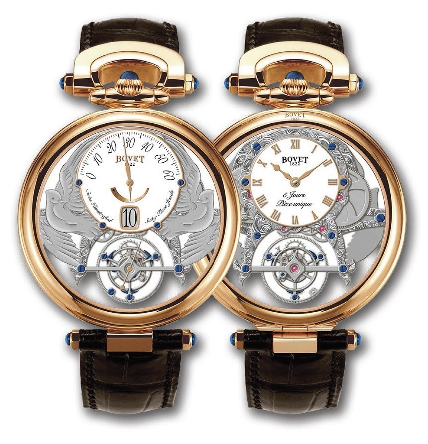 Bovet Amadeo Fleurier Virtuoso IV Watch Watch Releases